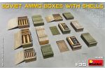 Soviet Ammo Boxes with Shells
