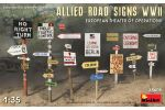Road Signs Allied WWII Europe
