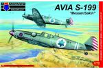 Avia S-199 Messer/Sakin 1/72
