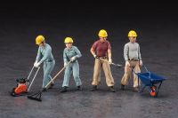 Bauarbeiter Set A 1/35