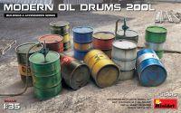 Modern Oil Drums (200l) 1/35
