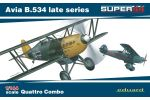 Avia B.534 late Quattro Combo 1/144